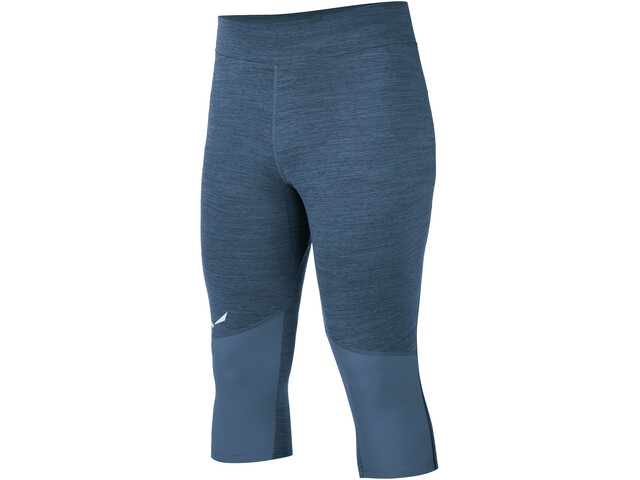 SALEWA Pedroc Dry Leggings 3/4 Homme, dark denim melange/8670